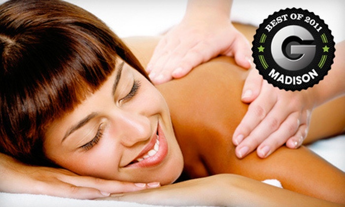 Sacred Rhythms Wellness Center - Madison: $59 for an Aromatherapy Massage with Full-Body Exfoliation at Sacred Rhythms Wellness Center (Up to 55% Off)