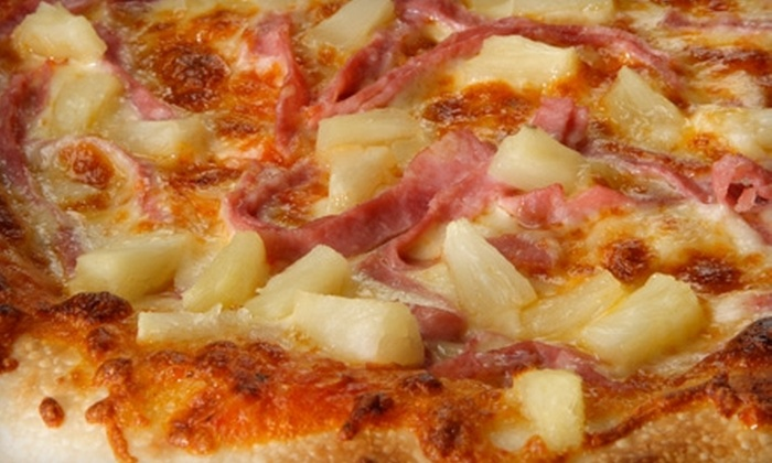 Original Pizza II - Costa Mesa: $12 for $25 Worth of Pizza, Pub Fare, and Drinks from Original Pizza II in Newport Beach