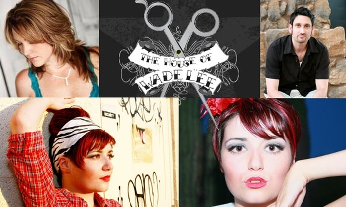 The House of Wade Lee - Thunderbird Landing: $20 for Haircut, Style, and Consultation at The House of Wade Lee