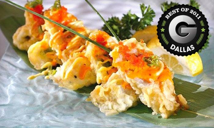 Geisha Steak and Sushi Restaurant - Far North Dallas: $20 for $40 Worth of Hibachi Fare and Sushi at Geisha Steak and Sushi Restaurant in Plano
