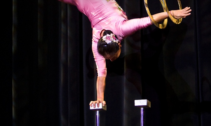 Chinese acrobat Li Liu - Vancouver: $18 for a Theatre Outing for Two to See Chinese Acrobat Li Liu at Centennial Theatre in North Vancouver (Up to $36 Value)