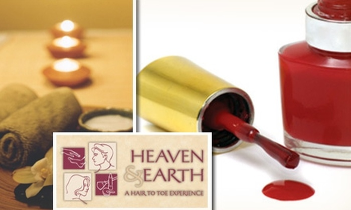 Heaven & Earth - Whitemarsh: $42 for a Mani-Pedi and 30-Minute Massage at Heaven & Earth