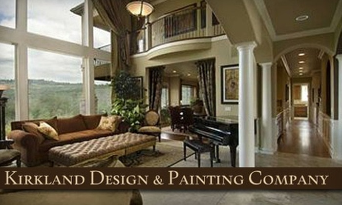 Kirkland Design & Painting Company - Moss Bay: Home Improvement Workshops at Kirkland Design & Painting Company. Choose from Four Options.