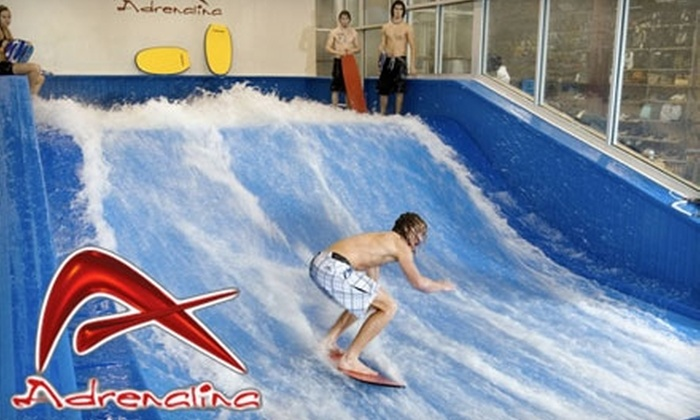 Adrenalina - Hallandale Beach: $20 for Two 30-Minute Indoor Wave Machine Sessions at Adrenalina ($40 Value)