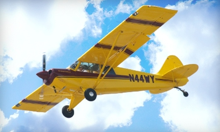 Nassau Flyers - East Farmingdale: $199 for an Introductory Flight Lesson in a Tailwheel Airplane from Nassau Flyers ($350 Value)