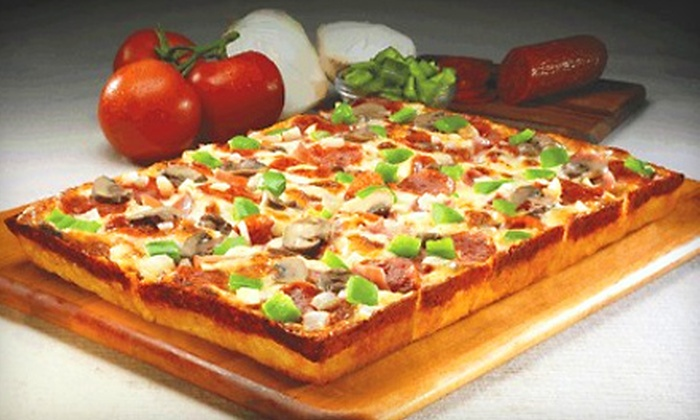 10 For Carryout Pizzeria Fare At Jet S Pizza Jet S Pizza Groupon