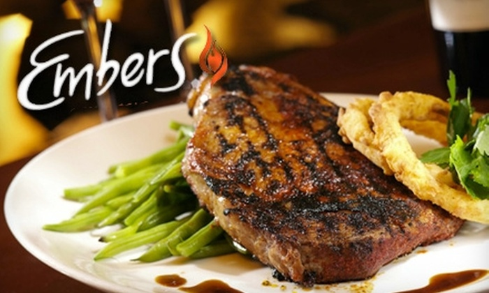 Embers - Madeira: $25 for $50 Worth of Steak, Sushi, and Drinks at Embers