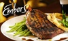 Half Off Steak and Sushi at Embers