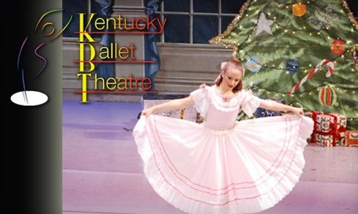 "Kentucky Ballet Theater - North Upper Street: $10 for an Adult Ticket to the Kentucky Ballet Theater's ""The Nutcracker"" on December 5th ($20 Value)"