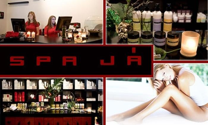 Spa Já - Clinton: $30 for Waxing or Organic Treatments at Spa Já ($55 Value)