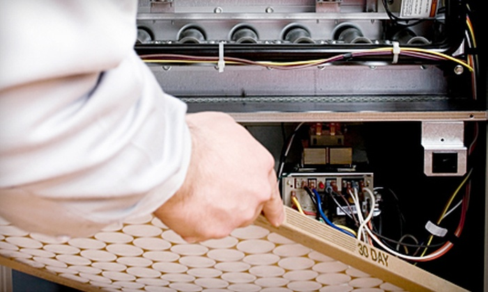 AAA HVAC Services - Ballston - Virginia Square: $49 for a Furnace, Heat Pump, or AC-Unit Cleaning and Maintenance Service from AAA HVAC Services (Up to $110 Value)