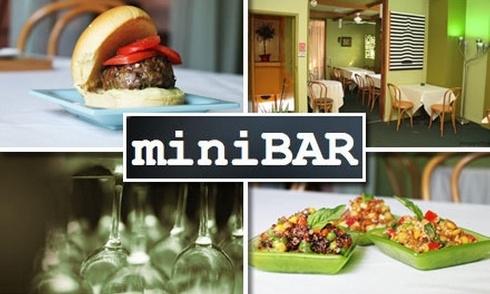 miniBAR - Wynwood: $20 for $45 Worth of Small Bites and Ample Sips at Minibar