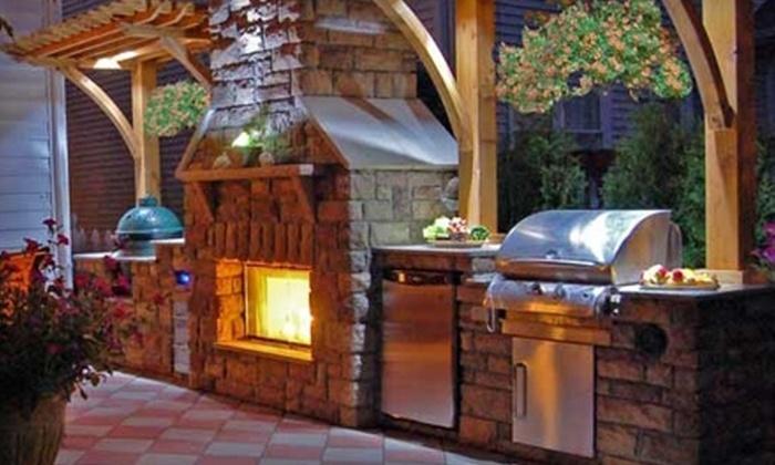 Joe's Backyard - Multiple Locations: Custom Outdoor-Entertaining Areas from Joe's Backyard. Three Options Available.