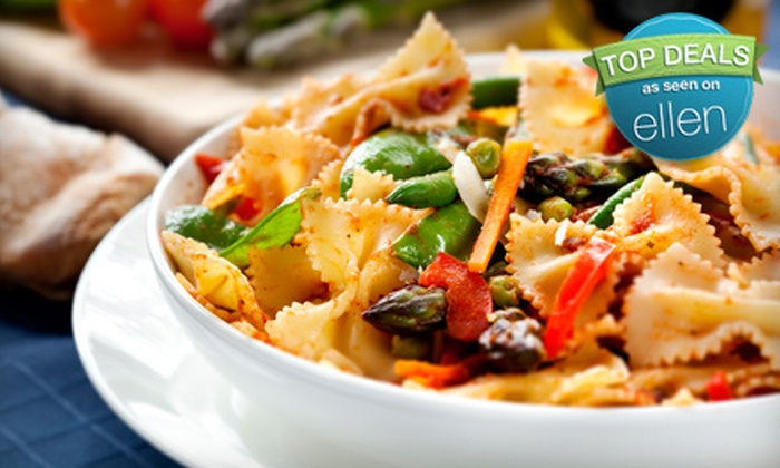 Capri Ristorante - South Barrington: Three-Course Italian Dinner with Wine for Two, Four, or Six at Capri Ristorante in Hoffman Estates (Up to 59% Off)