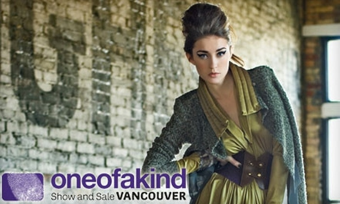 One of a Kind Show and Sale Vancouver - Downtown Vancouver: $10 for Two Tickets to the One of a Kind Show and Sale ($20 Value)