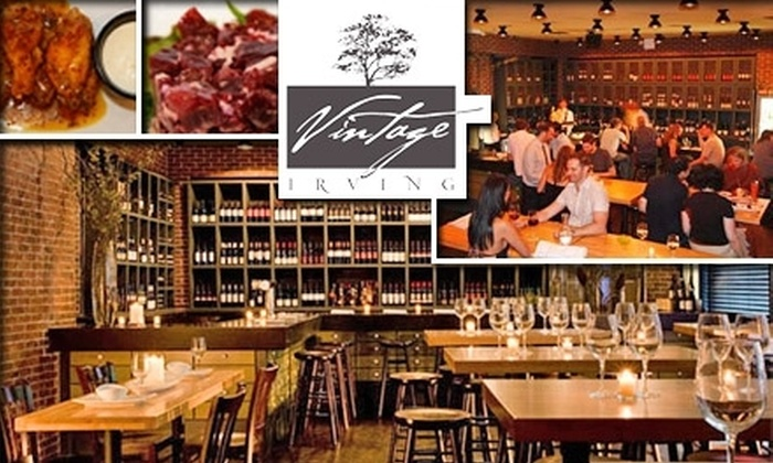 Vintage Irving - Union Square: $50 for a Wine, Meat, and Cheese Tasting at Vintage Irving