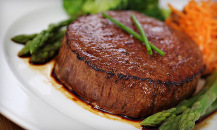 Barkley's Steak & Seafood House - Downtown: Prix Fixe Dinner or All You Can Eat Sunday Brunch at Barkley's Steak & Seafood House (Up to 55% Off)