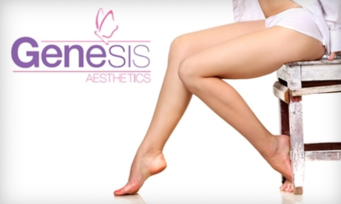 Genesis Aesthetics - Pittsford: $199 for a Spider-Vein Treatment at Genesis Aesthetics ($399 Value)