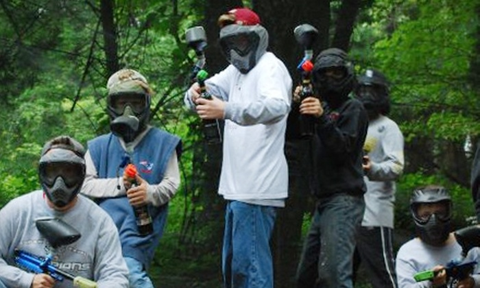 Plainville Paintball - Multiple Locations: $20 for a Paintball Session, Equipment, and 200 Paintballs at Plainville Paintball