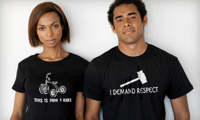 The T-Shirt Diner - Temecula Regional Center: $14 for $28 Worth of Custom T-Shirts at The T-Shirt Diner in Temecula