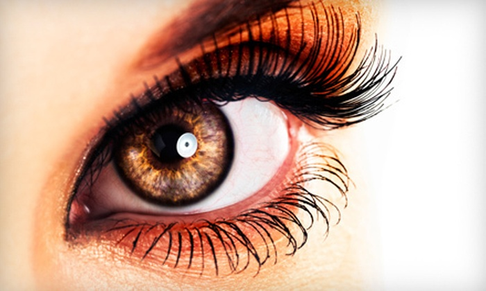 Happy Nails & Massage - South Side: $25 for Eyelash Extensions at Happy Nails & Massage ($50 Value)