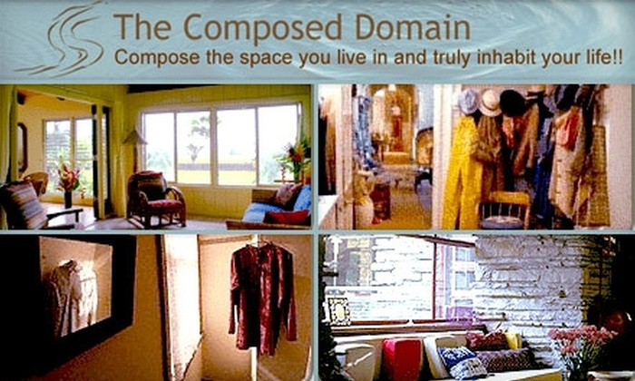 The Composed Domain - Seattle: $50 for a Personal-Organizing-Assessment Appointment from The Composed Domain