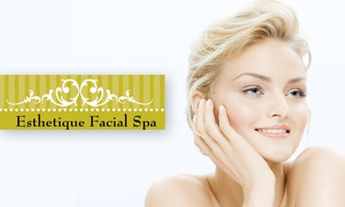 Esthetique Facial Spa - West Riverside: $30 for a Microdermabrasion Facial at Esthetique Facial Spa ($60 Value)