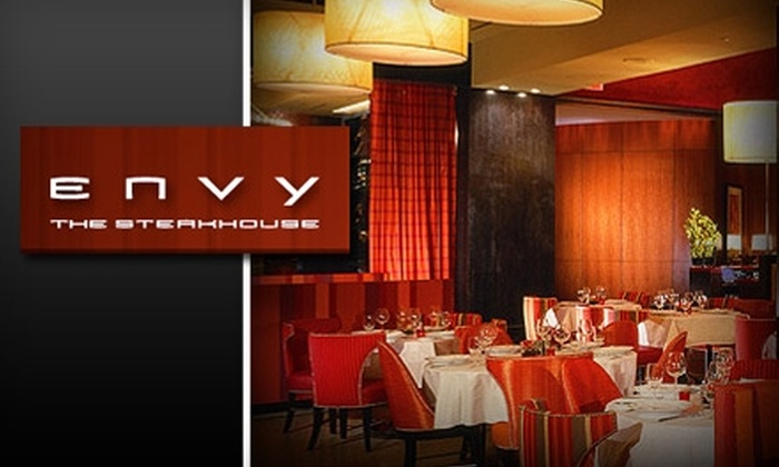 ENVY Steakhouse - Las Vegas: $25 for $50 worth of Steaks, Seafood, and More at ENVY Steakhouse