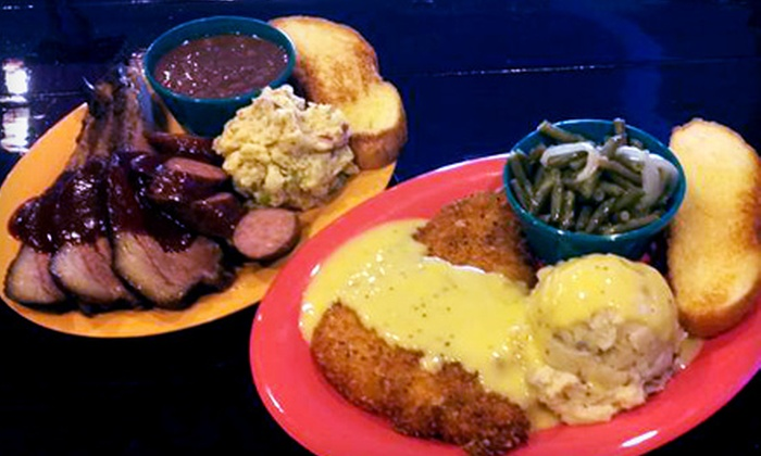 Pappy's Bar and Grill - Allandale: Homestyle Meal with Entrees and Sides for Two or Four at Pappy's Bar and Grill