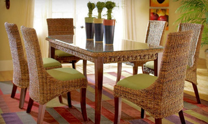 The Wicker Gallery - Raleigh: $100 for $250 Worth of Furniture and Accessories at The Wicker Gallery