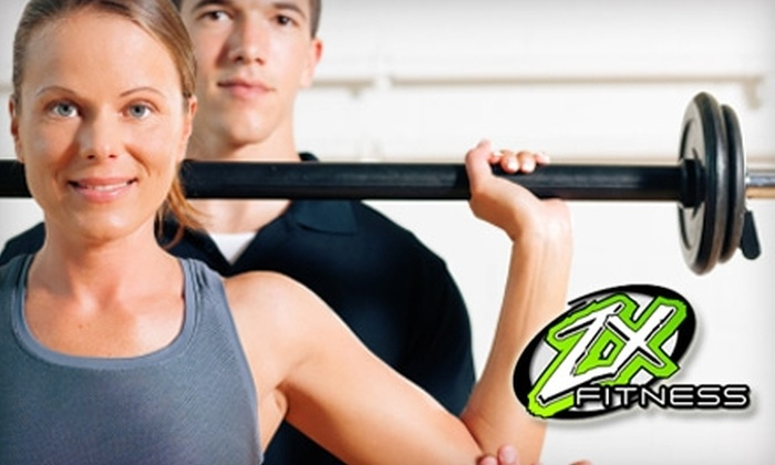 ZX Fitness - Multiple Locations: $30 for an All Inclusive Six-Week Pass, Two 30-Minute Personal Training Sessions, and Weekly Nutritional and Exercise Tips at ZX Fitness ($300 Value)