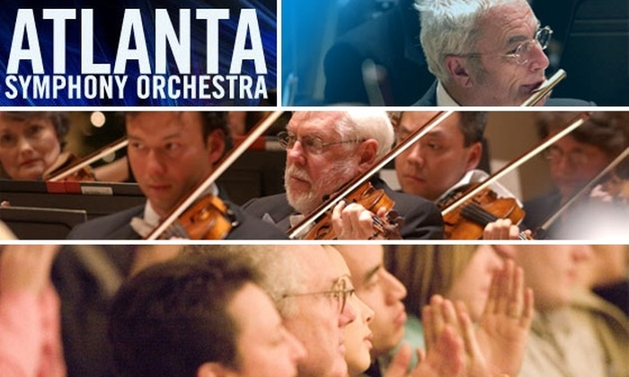 Atlanta Symphony Hall - Atlanta: $29 Dress Circle Seats to Atlanta Symphony Orchestra. Buy here for 'Broadway Rocks'. Other Concerts Listed Below.
