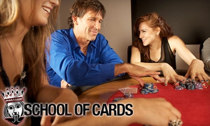 School of Cards - Chelsea: $249 for a 21-Hour Poker Course from School of Cards ($499 Value)