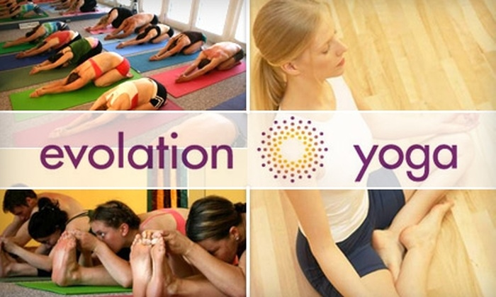 Evolation Yoga - Palma Ceia: $30 for One Month of Unlimited Yoga Classes at Evolation Yoga (Up to $150 Value)