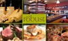 55% Off at Robust Wine Bar