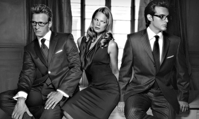 Astor & Black Custom Clothiers - Heartside-Downtown: $999 for a Men's or Women's Custom-Suit Package from Astor & Black ($2,048 Value)