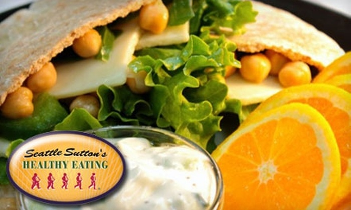 Seattle Sutton's Healthy Eating - Kalamazoo: $34 for Three Days' Worth of Delivered Prepared Meals or Seven Prepared Dinners from Seattle Sutton's Healthy Eating (Up to $69 Value)