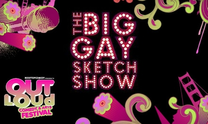 The Big Gay Tour - Castro: $10 for Ticket to The Big Gay Tour at the Out Loud Comedy & Arts Festival (Up to $25 Value)
