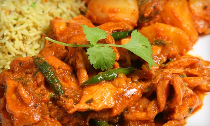 Viceroy of India - Multiple Locations: $10 for $25 Worth of Indian Cuisine at Viceroy of India