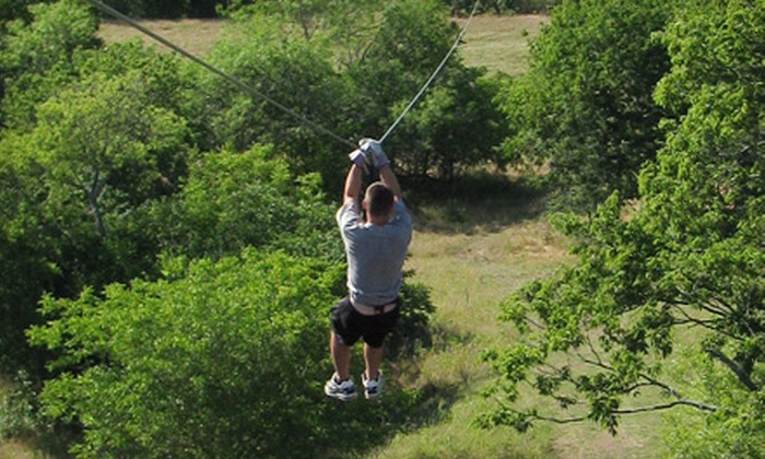 Beaumont Ranch - Grandview: $29 for a Zip-Line Tour at Beaumont Ranch in Grandview ($60 Value)