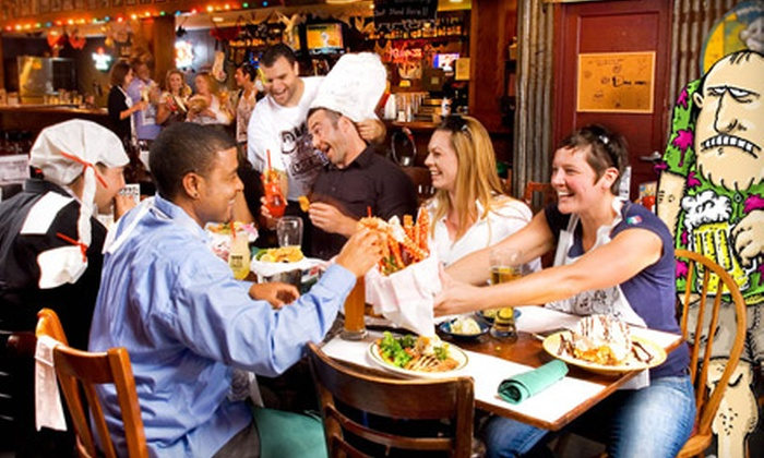 Dick's Last Resort - Central San Diego,Downtown,Gaslamp,Horton,Pacific Terrace: $15 for $30 Worth of Comfort Fare and Drinks at Dick's Last Resort