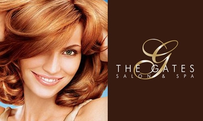 The Gates - San Marino: $39 for a Renewal Therapy Facial or a Haircut with Blow-Dry and Color Consultation at The Gates Salon ($84+ Value)