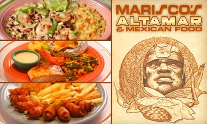 Mariscos Altamar Restaurant - Los Volcanes: $12 for $25 Worth of Seafood and Traditional Mexican Fare at Mariscos Altamar