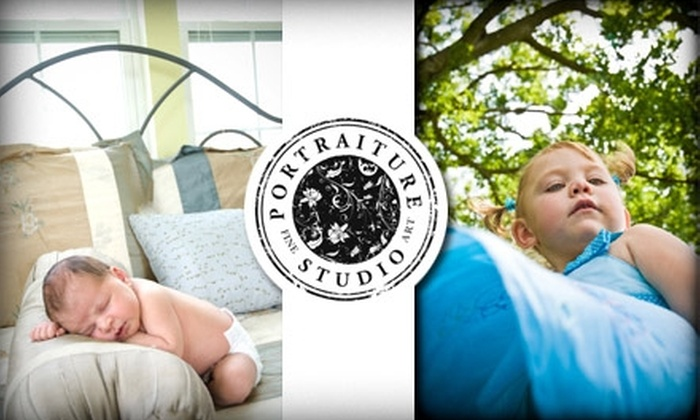 Portraiture Studio - Fishers: $50 for a 45-Minute Photo Shoot and CD of Enhanced Images at Portraiture Studio (Up to $790 Value)
