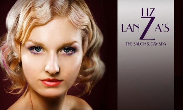Liz Lanza's The Salon & Day Spa  - Downtown: $50 for a Microcurrent Facial Lift and Photolight Rejuvenation Treatment at Liz Lanza's The Salon & Day Spa ($100 Value)