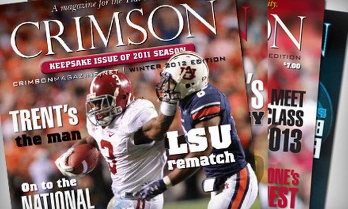 """Crimson Magazine"": $10 for a One-Year Subscription to ""Crimson Magazine"" ($20 Value)"