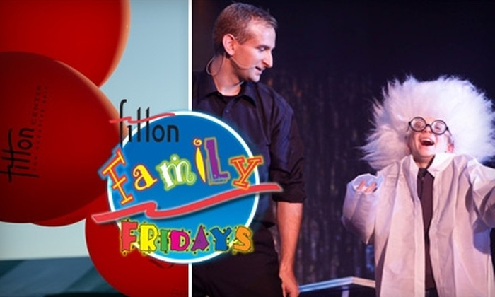 Fitton Center for Creative Arts - Hamilton: $5 for Two Tickets to Fitton Family Fridays at the Fitton Center for Creative Arts (Up to $24 Value)