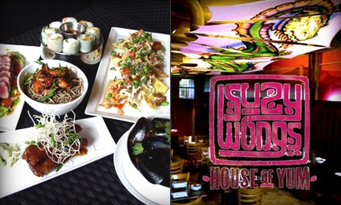 Suzy Wong's House of Yum - Nashville-Davidson metropolitan government (balance): $10 for $20 Worth of Asian Fare and Drinks at Suzy Wong's House of Yum