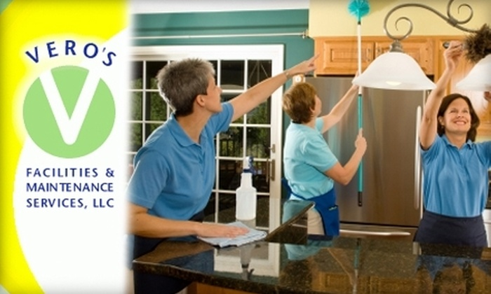 Vero's Facilities & Maintenance Services - San Jose: $45 for Two Hours of In-Home Cleaning from Vero's Facilities & Maintenance Services ($125 Value)