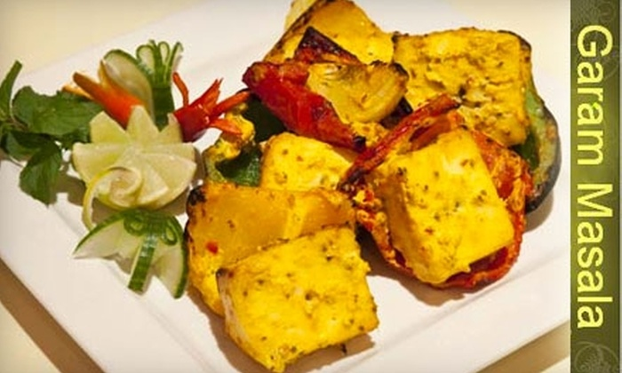 Garam Masala Restaurant - Mississauaga: $20 for $40 Worth of Indian Cuisine and Drinks at Garam Masala Restaurant in Mississauga